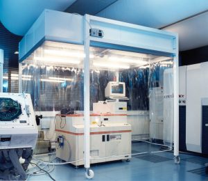 Cleanroom cabin