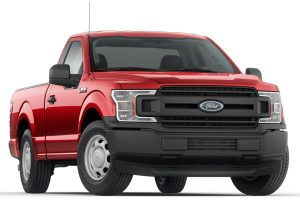 Red Ford F-150 Truck
