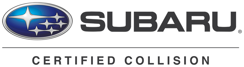 Subaru Certified Collision Repair logo
