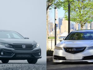 Honda and Acura automobiles