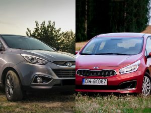Hyundai and Kia automobiles