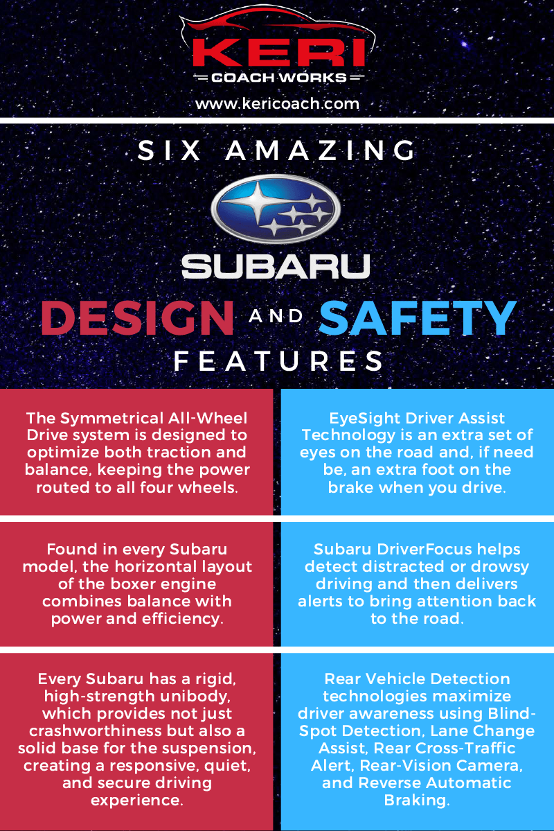 Six Amazing Subaru Design and Safety Features